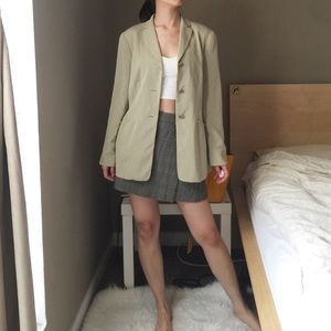 Ann Taylor 100% Silk Blazer.-C1.